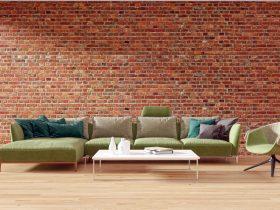 décorer un grand mur de salon